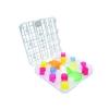 Spülkorb K32, weiß für Medizineinnehmebecher + Schnabelbecheraufsätze