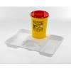 Tablett für Kanülenabwurfbehälter AP medical, groß