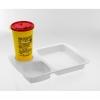 Tablett für Kanülenabwurfbehälter AP medical, klein