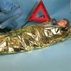 Rettungsdecke gold-silber 160 x 210 cm