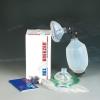 Notfall-Beatmungsbeutel + 2 PVC Masken Gr. 3 +5