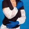 Ärmelschoner/-schutz PE-Folie, weiß (100 Stück)