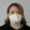 Faltmaske FFP2 ohne Ausatemventil (20 Stück)
