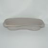 Nierenschalen Pappe grau, (75 Stück)