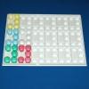 Medikamenten-Tablett groß für 90 Becher