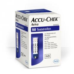 Blutzuckerteststreifen Accu-Chek Aviva (50 Stück)