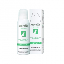 Allpresan diabetic Fuß-Schaum-Creme INTENSIV (125 ml)