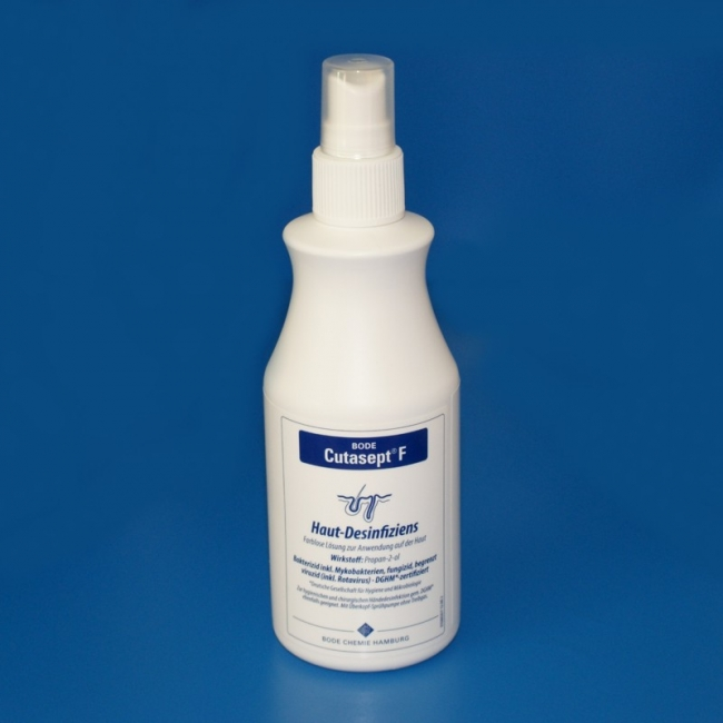 Cutasept F farblos 250 ml, Hautdesinfektion